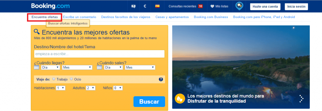 Booking encontrar ofertas - Los viajes de margalliver